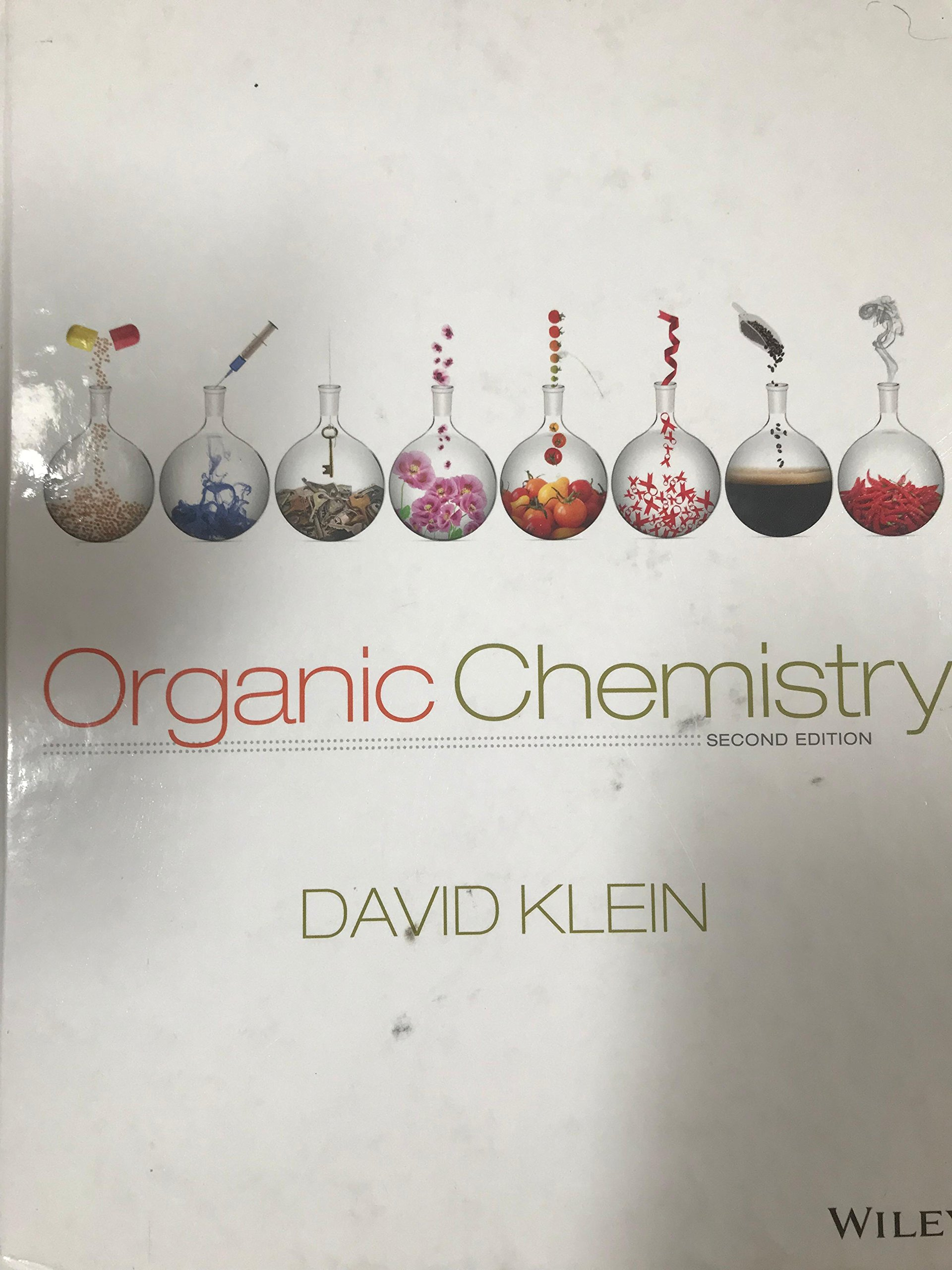 Organic Chemistry Second Edition: David Klein: 9781118452288: Amazon.com:  Books