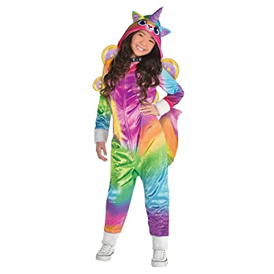 Suit Yourself Felicity Halloween Costume for Girls, Rainbow Kitty Unicorn, Includes Accessories: Clothing