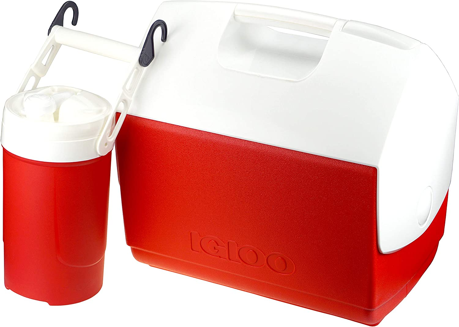 Igloo Playmate Coolers: 16 Quart Cooler and 1/2 Gallon Sport Beverage Cooler, Red