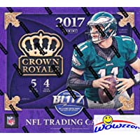 $79 » 2017 Panini Crown Royale NFL Football EXCLUSIVE Factory Sealed Retail Box with TWO (2)…