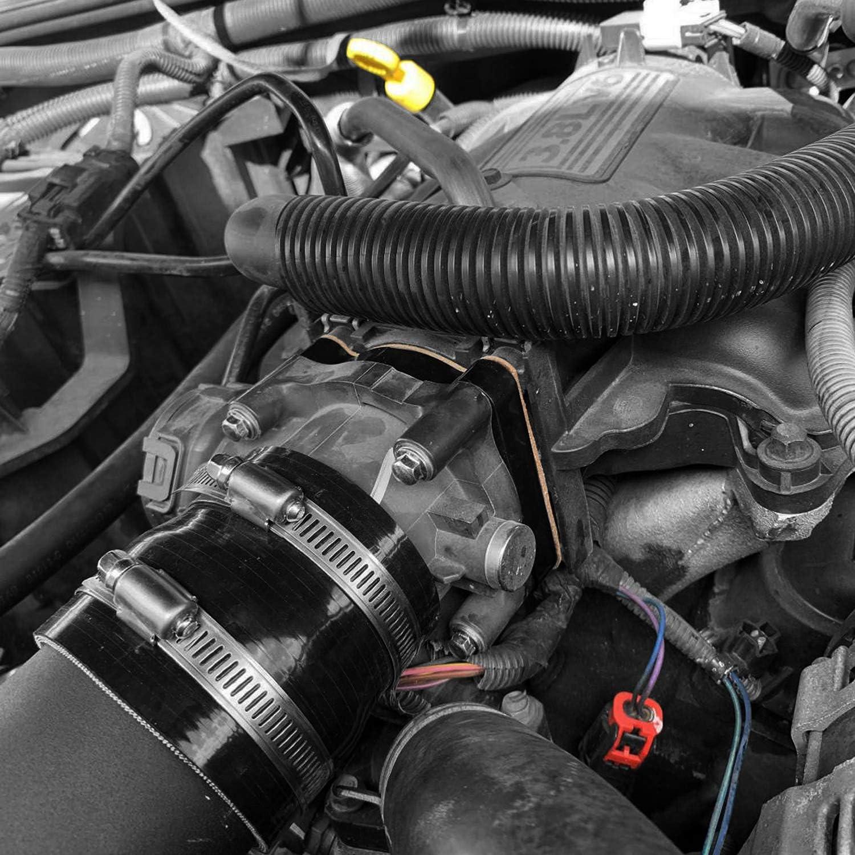 Hooke Road 3.8L V6 Engine Throttle Body Spacer for Jeep JK Wrangler 2007 2008 2009 2010 2011