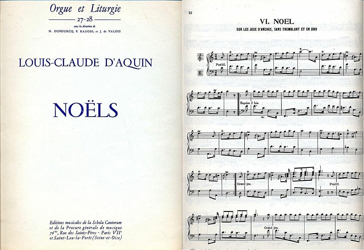 Composer Un Menu De Noel.New Book Of Noels For Organ Complete Nouveau Livre De