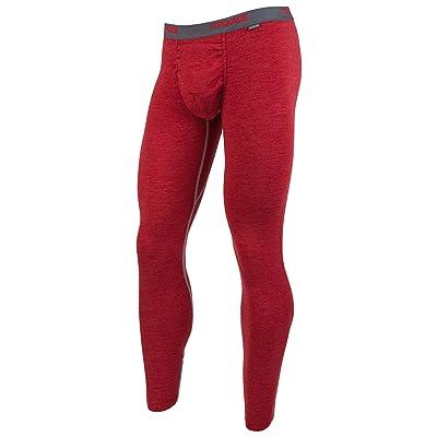 MyPakage Men's Premium Wool Top, Crimson/Heather, X-Large