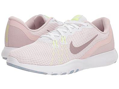 Nike W Flex Trainer 7, Chaussures de Fitness Femme, Multicolore  (White Elemental 8199e806f72e