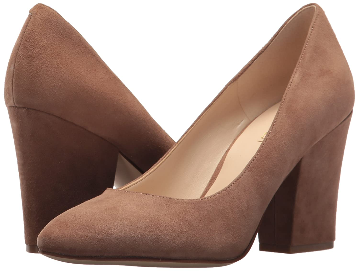 Nine West Women's Scheila 6 Suede Dress Pump B06ZYHXDFG 6 Scheila B(M) US|Natural Su dda8ce