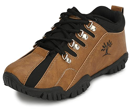 a136b49283c1 Afrojack Men s Brown Grey Black Combo Of Shoes