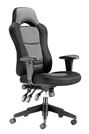 Chairs For fices GKT9 Extra Tall Person Heavy Duty Headrest fice Chair Black Grey Seat Height