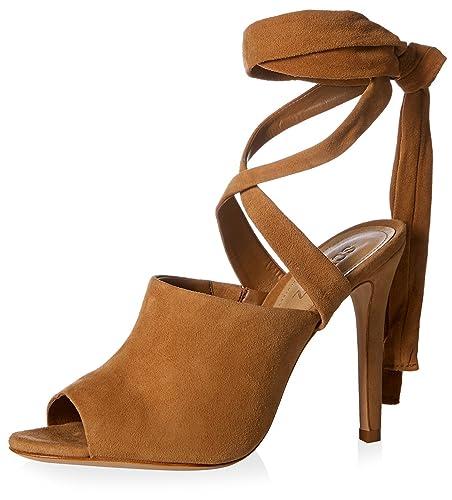 5bb67905e76 Amazon.com  SCHUTZ Women s Tall Strappy Gladiator Sandal