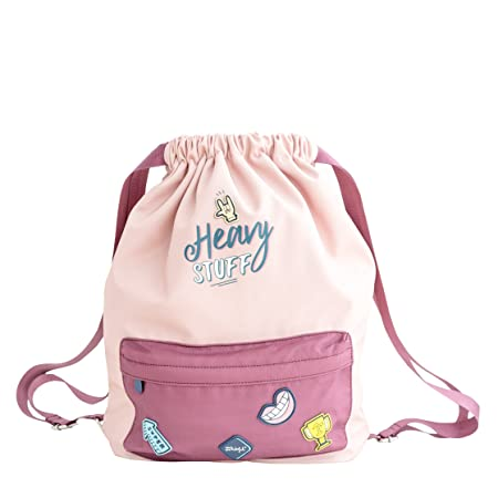 Mr. Wonderful Mochila, Rosa/Granate, 43x44x15 cm: Amazon.es: Hogar
