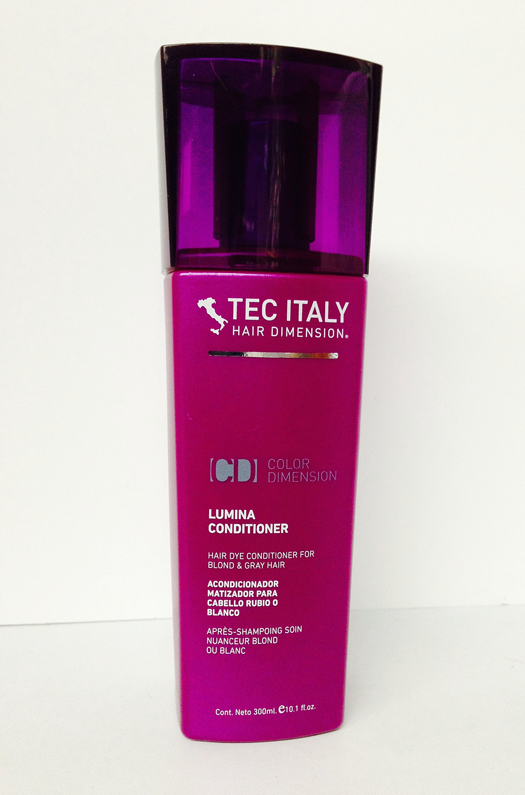Color art by tec italy - Tec Italy Lumina Conditioner For Blond And Gray Hair 10 1 Oz