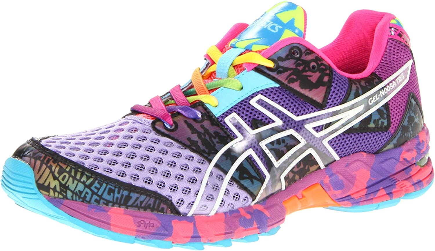 Asics Gel-Noosa Tri 8 Womens Running Sneakers (T356N-2536)  Amazon.co.uk   Shoes   Bags b81ab1b038ea