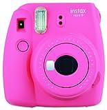 Fujifilm Instax Mini 9 Flamingo Fotocamera Istantanea, 62 x 46 mm, Rosa
