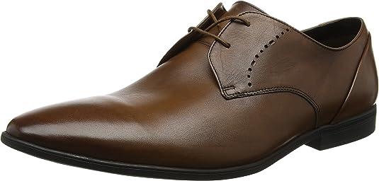 Clarks Bampton Lace, Zapatos de Cordones Derby para Hombre