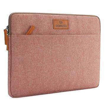 DOMISO Laptop Funda para Ordenador portátil Sleeve para Funda de protección Rosa Rose 10,1 Pulgadas: Amazon.es: Informática