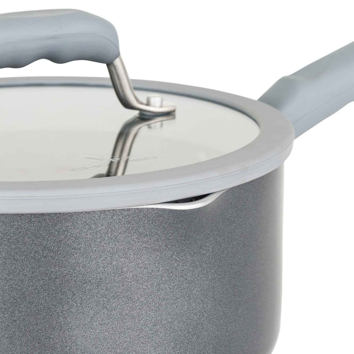 Chopped 60141-9990-GRY Aluminum Cookware Set, 10 Piece, Gray by Chopped (Image #4)
