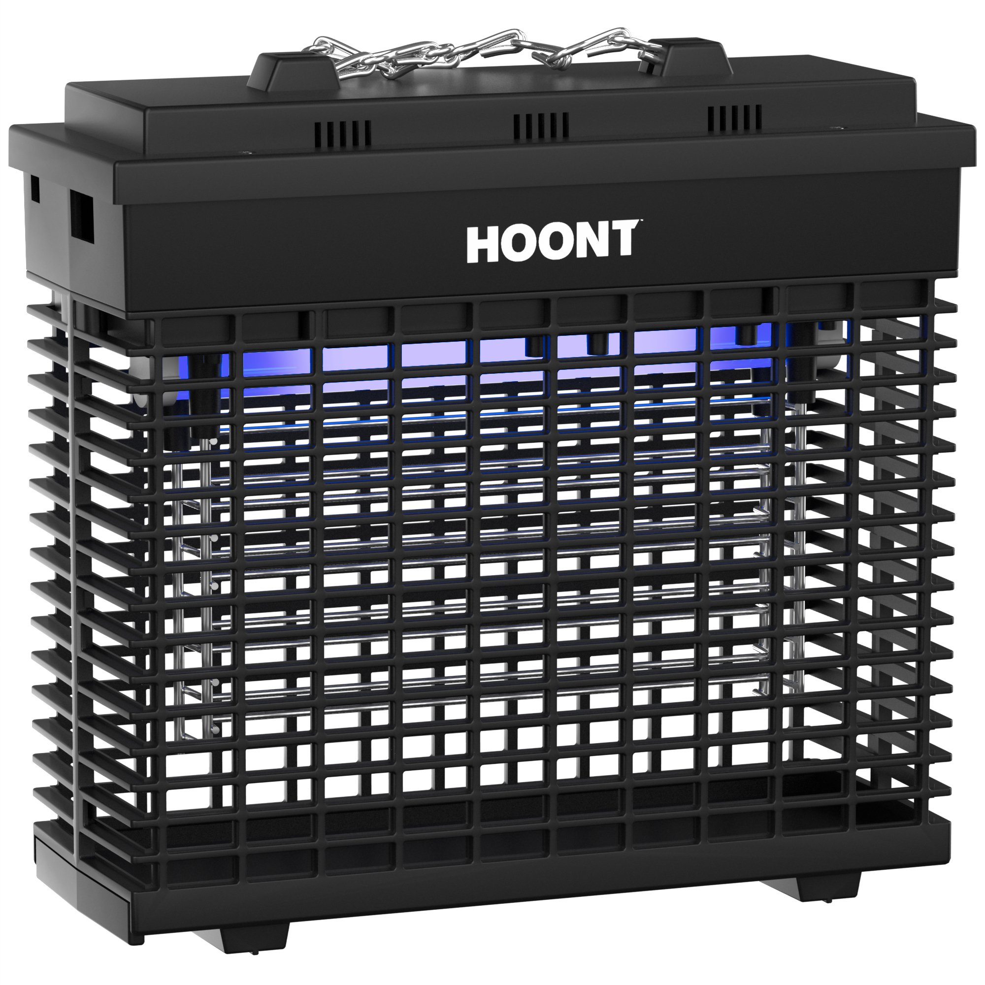 Hoont Robust Electric Indoor Bug Zapper and Fly Zapper Killer Catcher Trap – Covers 2,000 Sq. Ft / Bug and Fly Killer, Insect Killer, Mosquito Killer – For Residential, Commercial and Industrial Use by Hoont