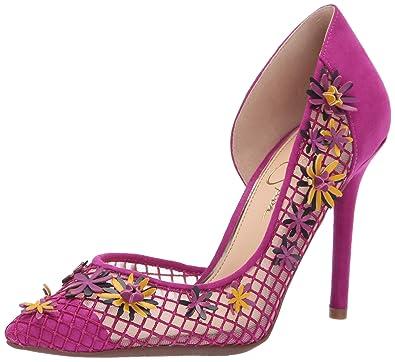 15b3e7e2abe Jessica Simpson Women s LEIGHAH Pump Vivid Orchid 5.5 Medium US