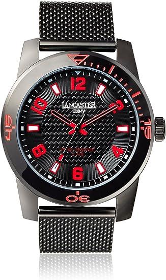 Lancaster 0638MBSSNRSL - Reloj de Señora Cuarzo Plata: Amazon.es: Relojes