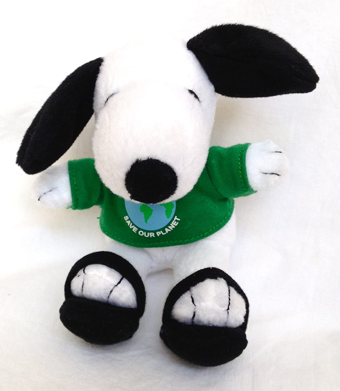 Metlife Peanuts Snoopy Plush  Save Our Earth Earth Earth - Earth Day by Peanuts 567d04