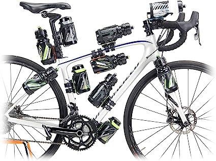 RaceOne - Portaobjetos y adaptadores para Bicicleta, Unisex, para Adulto, Negro, L: Amazon.es: Deportes y aire libre
