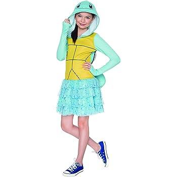 Amazon.com: Rubie\'s Costume Pokemon Squirtle Child Hooded Costume ...