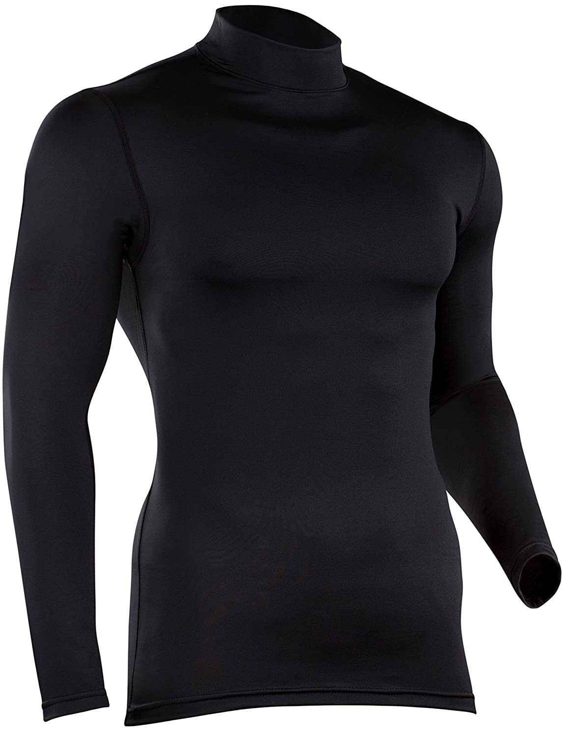 ColdPruf Mens Quest Performance Base Layer Long Sleeve Mock Neck Top ColdPruf Baselayer