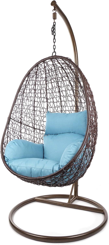 con cuscini mobili in rattan Set completo di poltrona sospesa Capdepra Kideo altalene Swing Chair polyrattan poltrona lounge