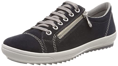 Rieker M6012, Zapatillas para Mujer, Azul (Pazifik), 43 EU