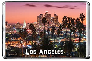 GIFTSCITY E134 LOS ANGELES FRIDGE MAGNET USA TRAVEL PHOTO REFRIGERATOR MAGNET