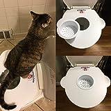 Cat Kit Kitty Pet Toilet Seat Training System By Nabiugi
