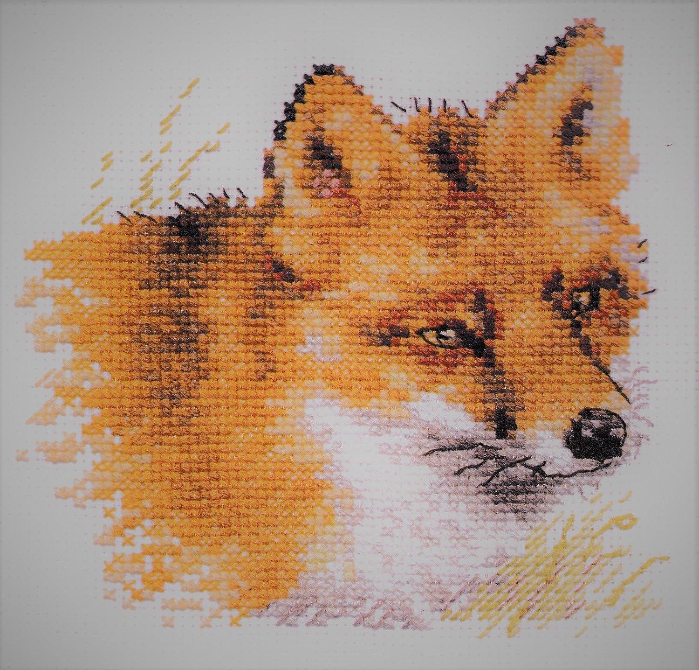 Little Hedgehog 0-171 Alisa 4 Unprinted Needlework Kit