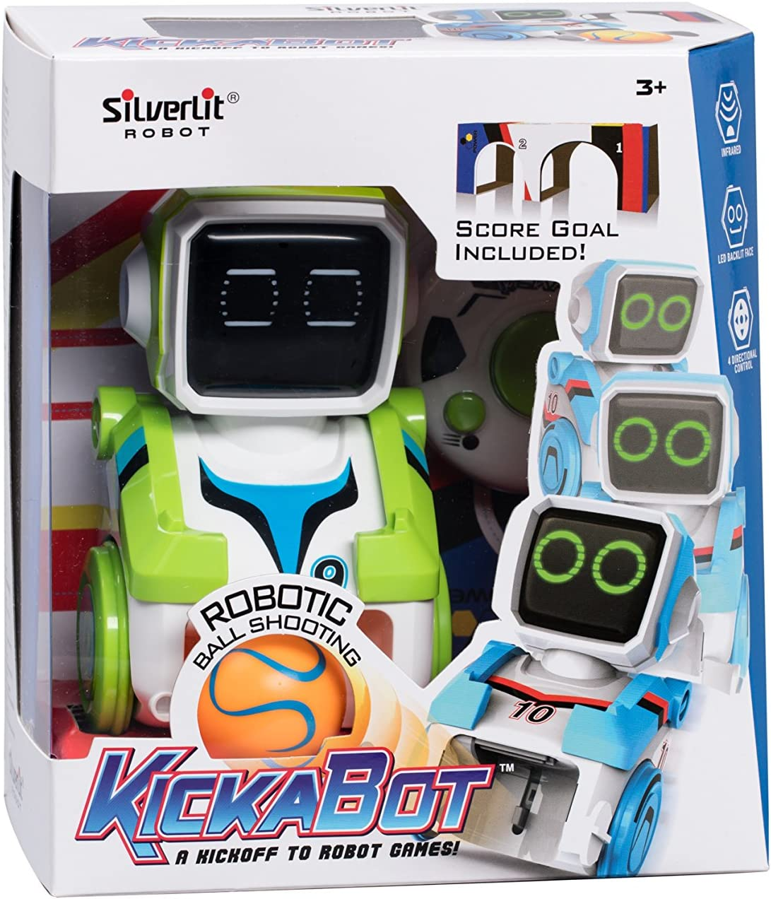 Amazon.es: World Brands- Kickabot Robot Futbolista, Multicolor ...