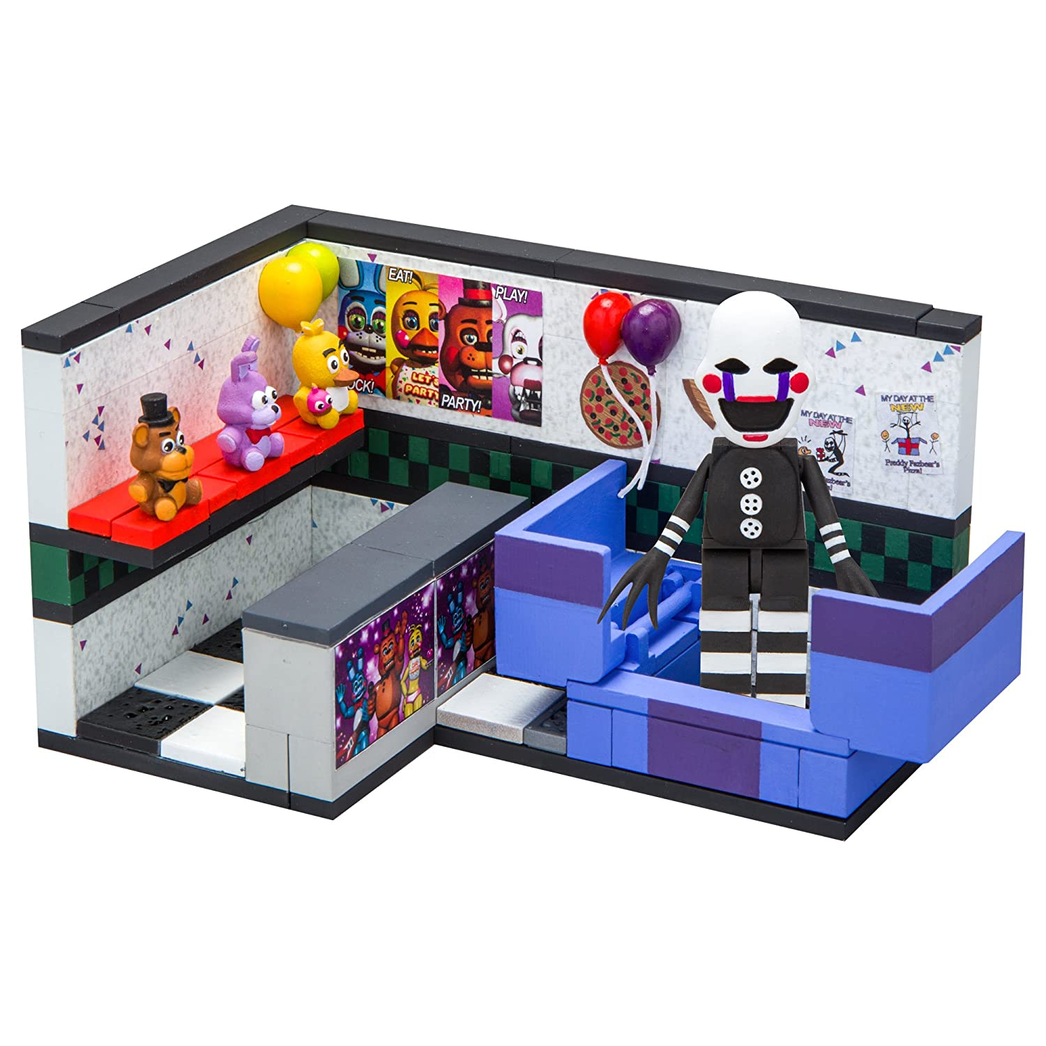 The Puppet Five Nights at Freddy/'s Prize Corner Construction Set