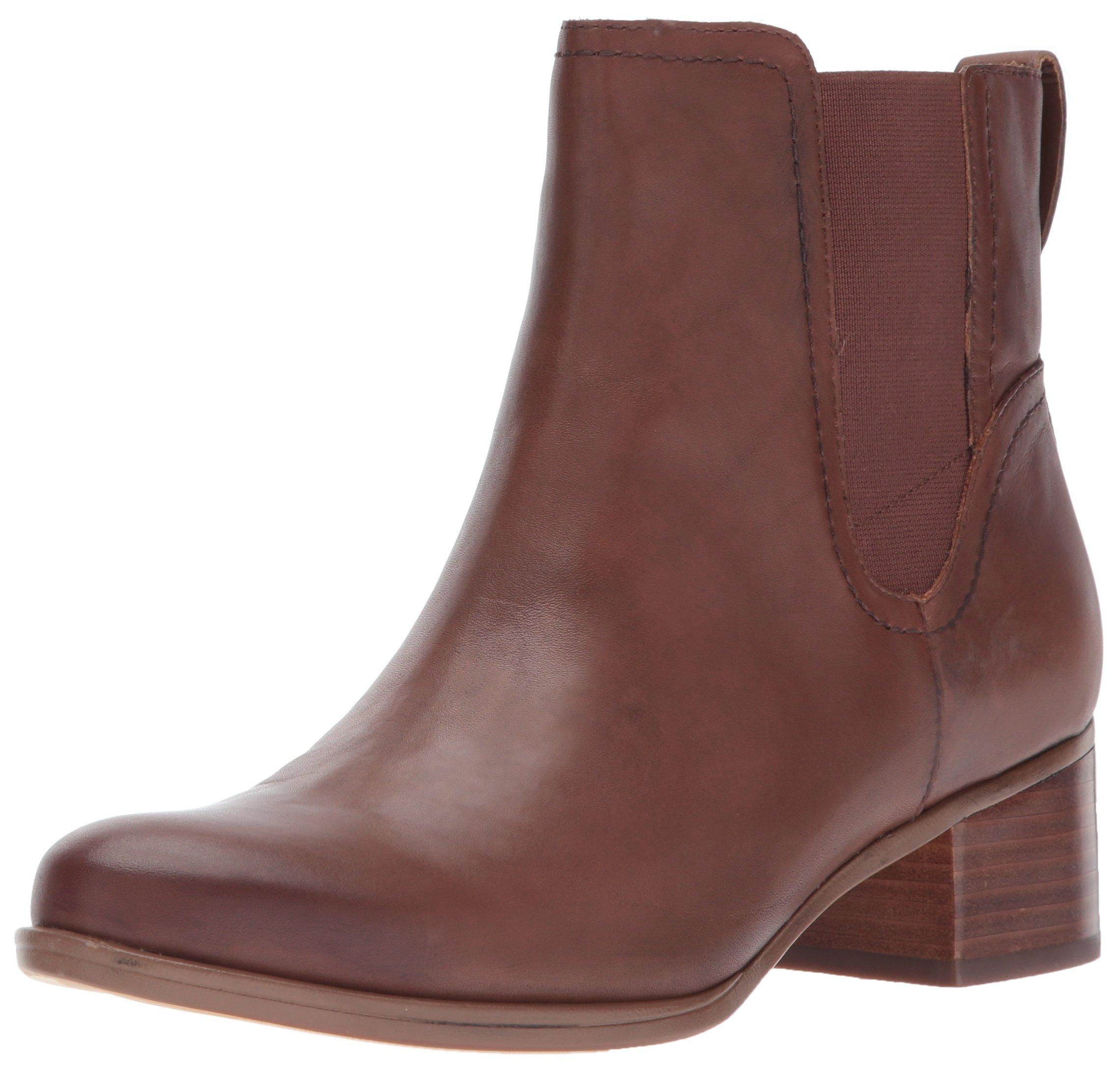 Naturalizer Women's Dallas Ankle Bootie, Coffee Bean, 8 W US