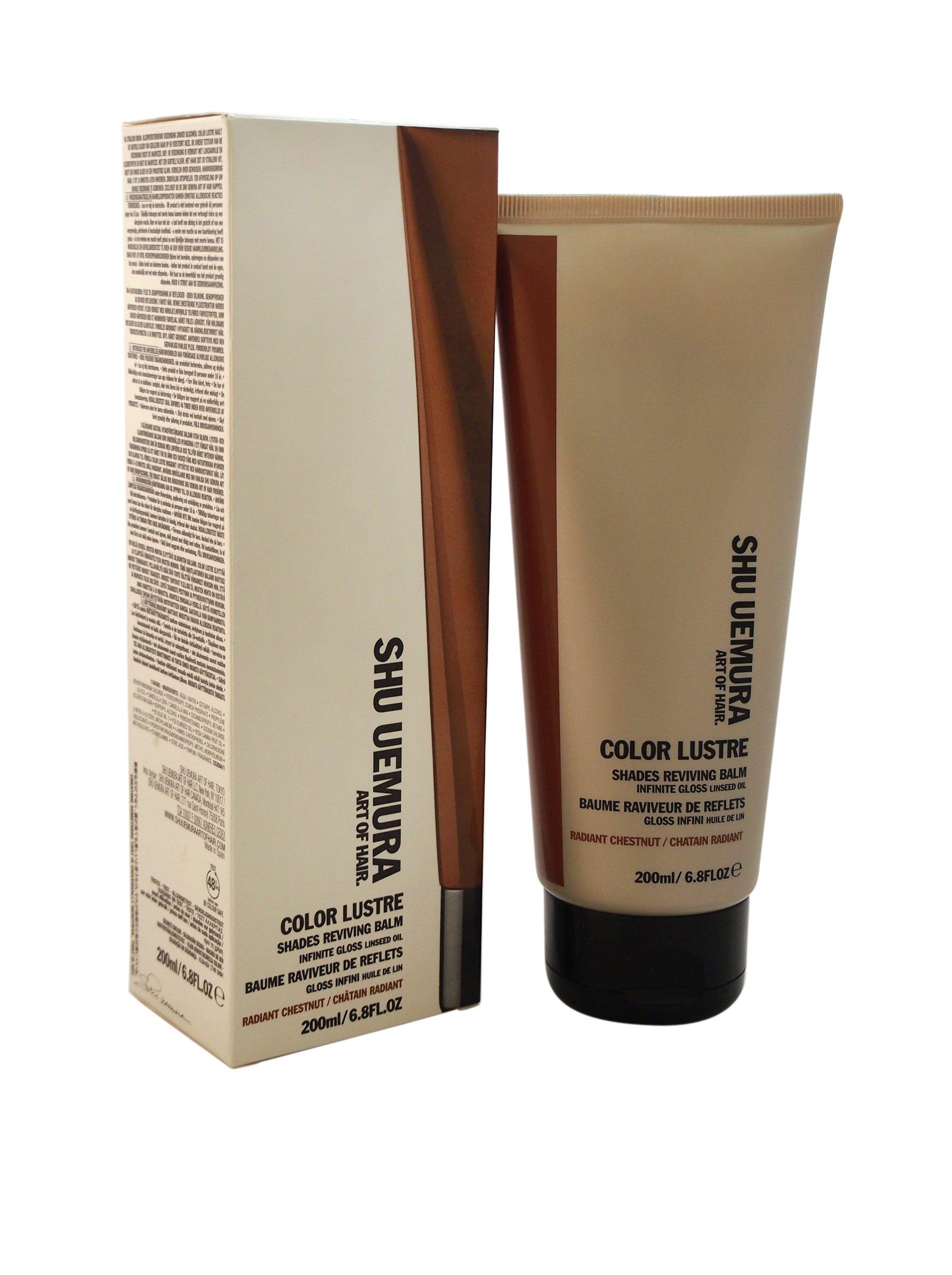 Shu Uemura Color Lustre Revining Balm for Unisex, Radiant Chestnut, 6.8 Ounce