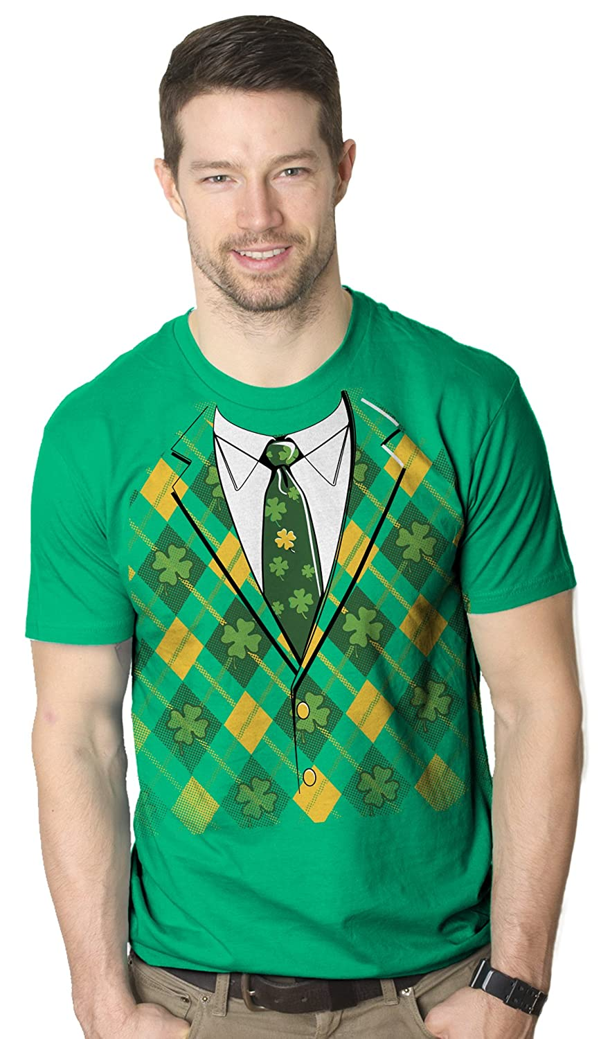 Amazoncom Leprechaun Tuxedo Funny ST Patricks Day Irish - Dad turns his 6 month old son into real life leprechaun for st patricks day