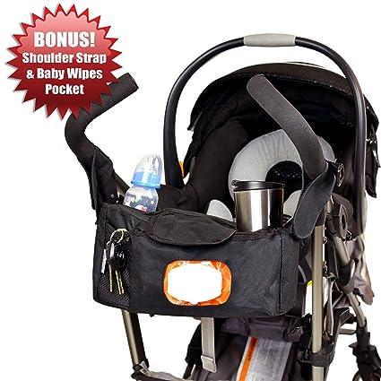 Bolsa para pañales (con compartimentos para cochecito de Angel Baby con bandouliãˆres y bolsillo para