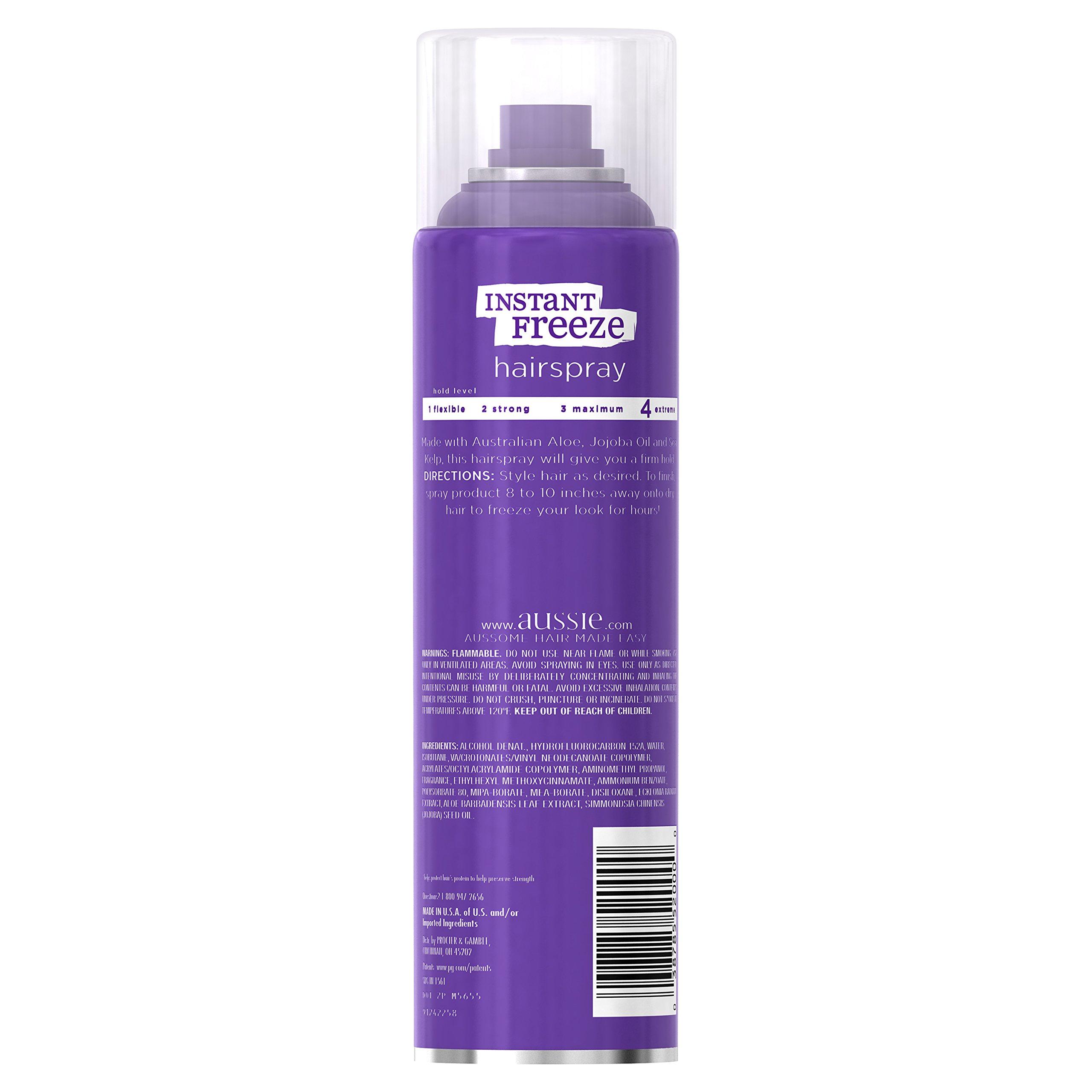 Aussie Instant Freeze Aerosol Hairspray 7 Oz (Pack of 12) by Aussie (Image #2)