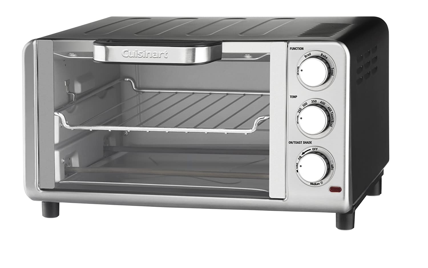Amazon.com: Cuisinart TOB-80 Compact Toaster Oven Broiler: Kitchen ...
