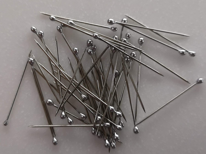 Bunt Ayg/ün CNCTechnik Stecknadel mit Kunststoff Kopf 0,60x28mm 100 St/ück