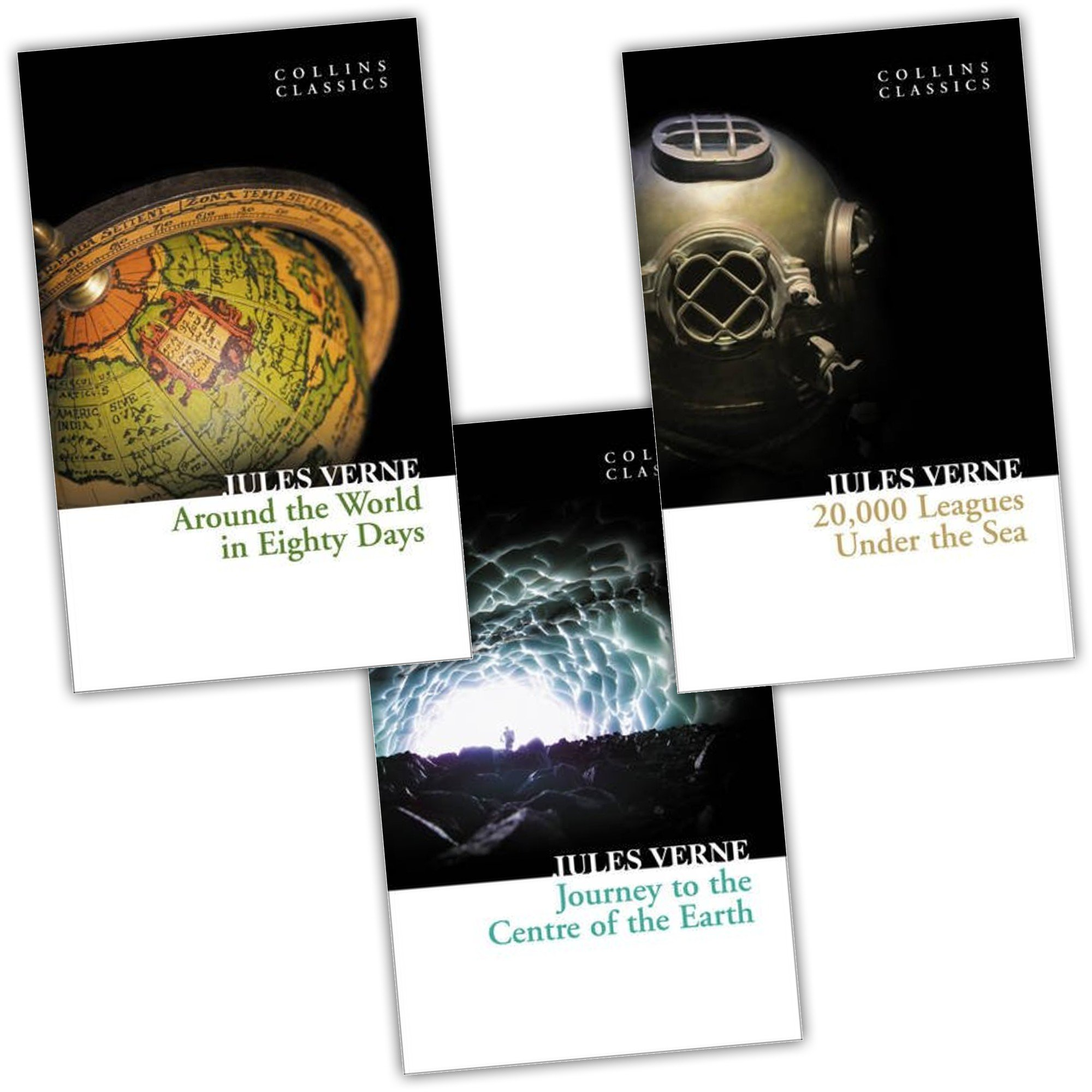 Jules Verne Collins Classics 3 Books Collection Pack Set ebook