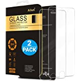 iPhone 6 plus Screen Protector,iPhone 6s plus Screen Protector,[2 Packs]by Ailun,2.5D Edge Tempered Glass, Anti-Scratch,Case Friendly,Siania Retail Package