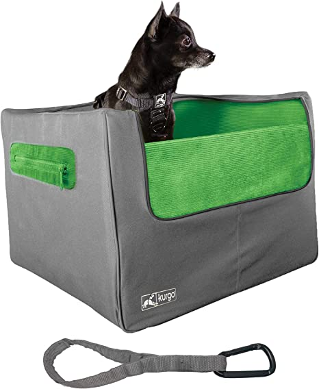 Kurgo Rear Car Booster Seat for Dogs