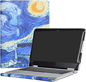 "Alapmk Protective Case Cover for 12.5"" Lenovo Yoga 720 12 720-12IKB Laptop(Not fit Yoga 730/Yoga 720 15/Yoga 720 13/Yoga 710/Yoga 700),Starry Night"