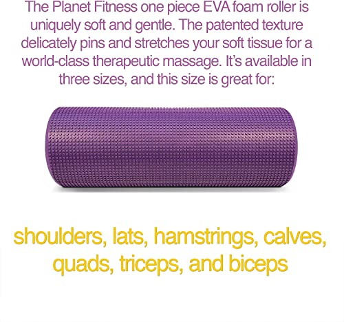 Planet Fitness Muscle Massager Foam Roller for Deep Tissue Massage