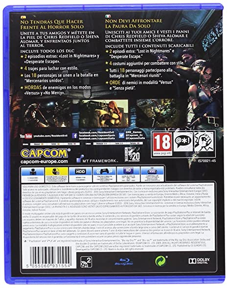 Resident Evil 4 HD & Evil 5 HD: Amazon.es: Videojuegos