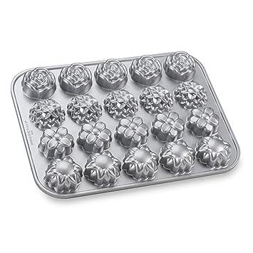 NordicWare 58548 Cake Molde Diseño Petits Fours de aluminio fundido: Amazon.es: Hogar