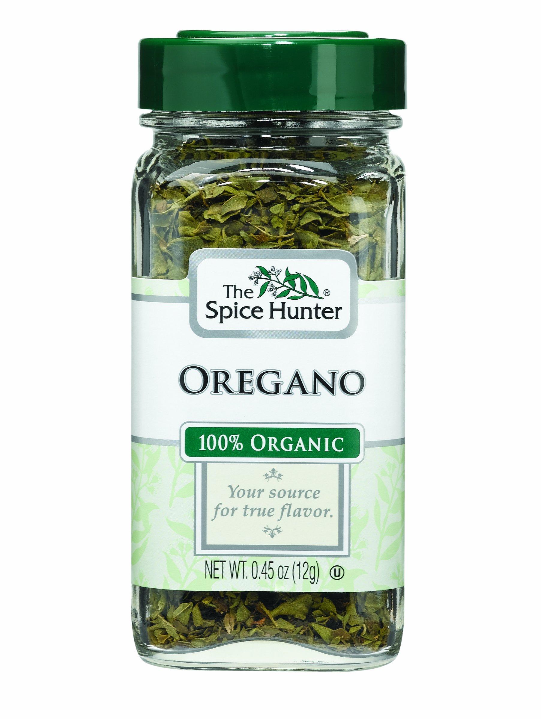 The Spice Hunter Oregano, Organic, 0.45-Ounce Jars (Pack of 6)