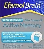 Efamol Brain Active Memory - 30 capsules