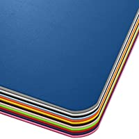 Office Marshal® Vloerbeschermingsmat in trendy kleuren | 75 x 120 cm voor harde vloeren | zonder schadelijke weekmakers…